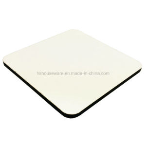 China Top Quality 9X9cm Square Sublimation MDF Coaster and Holder Set pictures & photos