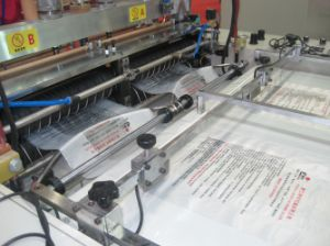 Heat-Sealing and Heat-Cutting Bag Making Machine (two lines) -DFR-300x2/DFR-400x2 pictures & photos