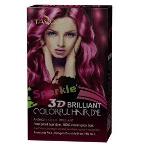 3D Hair Color Hair Dye cosmetic pictures & photos