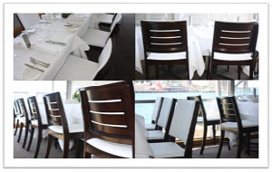 Bentwood Material High Glossy Dining Restaurant Cafe Chair (FOH-BC20) pictures & photos