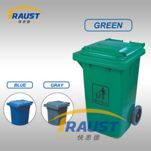 Outdoor Plastic Waste Bin Tpg-7322A with Foot Pedal pictures & photos
