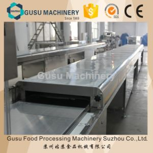Ce Snack Food Chocolate Machine Energy Bar Bottom Coating Machine pictures & photos