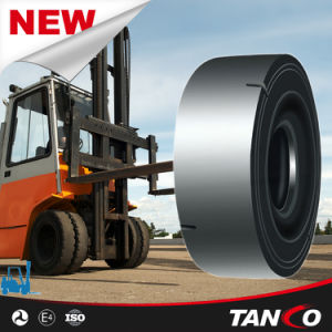 Hilo Forklift Tire 18.00r25 Smooth Pattern pictures & photos