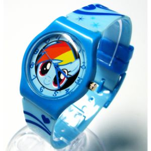 Promotional Cartoon Silicone Wrist Watch for Kids pictures & photos