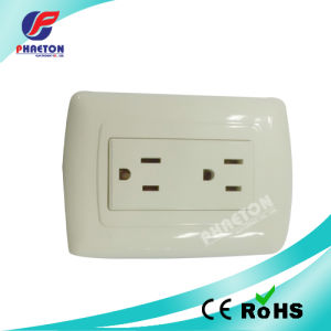 South American 6 Pins Wall Socket pictures & photos