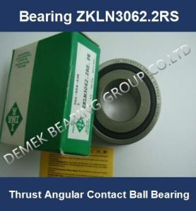 Thrust Angular Contact Ball Bearing Zkln3062 2RS Ball Screw Bearing pictures & photos