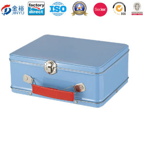 Medical Promotion Emergency Tinplate First Aid Box pictures & photos
