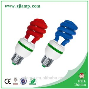 Ctorch/Torch Half Spiral Colourful Energy Saving Lamp pictures & photos