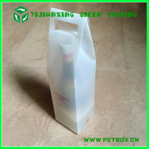 Custom Plastic PP Packaging Box for Red Wine pictures & photos