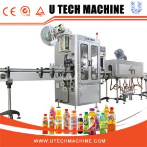 2016 Hot Sell Automatic PVC Shrink Sleeve Label Machine pictures & photos