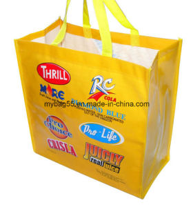 Cmyk Printing Polypropylene Grocery Promotion Bag pictures & photos