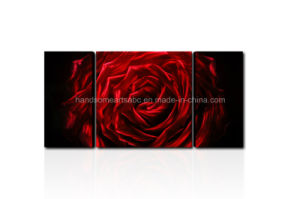 Handmade Aluminum Metal Rose Wall Crafts / Arts for Decor (CHB601201) pictures & photos