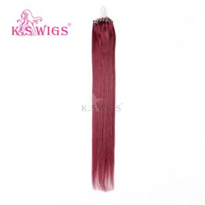 Wholesales Stock Cambodian Hair Micro Ring Hair Extension 530# Color pictures & photos