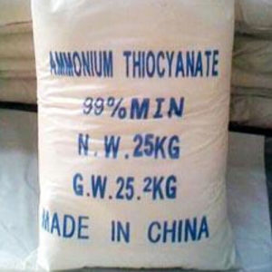 White Crystalline Ammonium Thiocyanate with Lowest Price pictures & photos