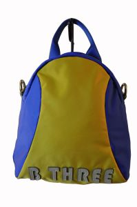 New Lady Nylon with Leather Backpack/ Hight Quality (BS13323) pictures & photos