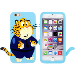 Zootopia Cheetah Silicone Cover Silicone Cellphone/Mobile Case for iPhone 5/6/6p pictures & photos