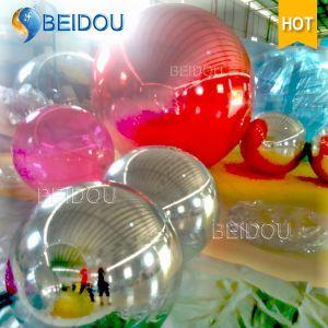 Hot Sale Decorative Gold Blue Mini Plastic Mirror Balls Mini Disco Inflatable Mirror Ball pictures & photos