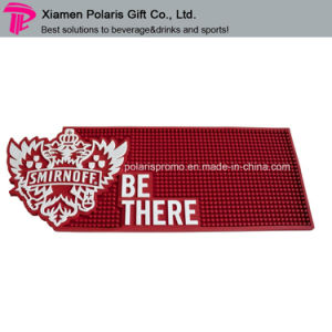 Soft PVC Bar Runner with Customized Logo Artwork pictures & photos