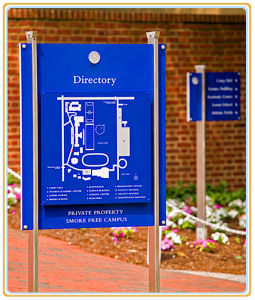 Campus Directional Sign/Floor Standing Direction Sign pictures & photos