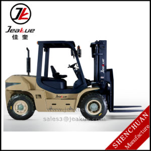 China Compact 5t Diesel Forklift with Latest Promotion Price pictures & photos