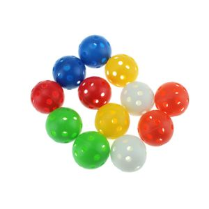 Wholesale Cheap Colored Plastic Practice Golf Balls