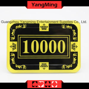 2017 New Shape / Crystal Acrylic Poker Chips with Crown Screen Casino Chip (YM-CP026-27) pictures & photos