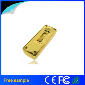 Hot Selling Golden Bar USB Flash Drive pictures & photos