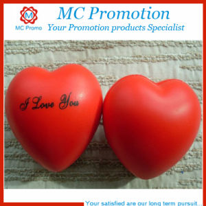 Promotion Heart Shape PU Stress Toy