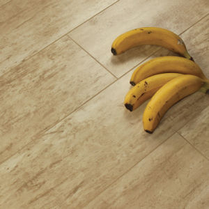 12mm Eir Brushed Metal Antiqued of Laminate Flooring with Cheap FOB Price (B002#)