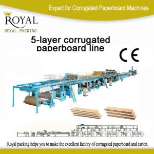 5-Layer Corrugated Paperboard Production Line for Carton pictures & photos