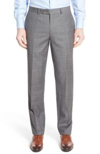 OEM Classic Fit Men′s Windowpane Business Suits pictures & photos