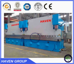 WE67K-160X4000 CNC Electric Hydraulic Synchronization Hydraulic Press Brake pictures & photos