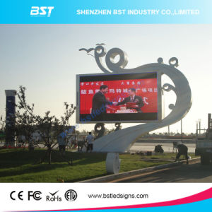 Bst High Resolution P6 Outdoor LED Digital Billboard 2500dots/Sqm Advertising LED Display pictures & photos