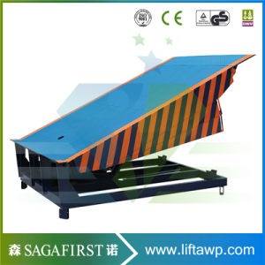 6ton 12ton Mechanical Dock Leveller; Telescoping Dock Ramp; Hydraulic Cylinder Dock Leveler pictures & photos