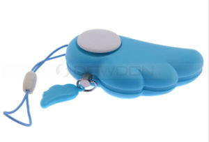 Cute Pink Blue Mini Lady Handbag Portable Personal Alarm Security Alarm with Belt Promotion Gift pictures & photos
