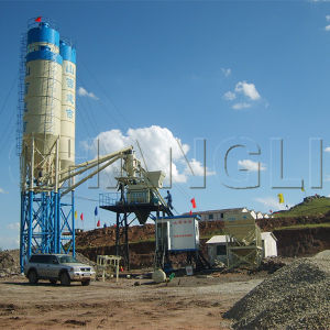 Concrete Batching Plant of Hzs50, Types of Batching Plants pictures & photos