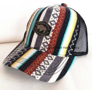 Constructed Flame Joint Embroidery Sandwich Sport Baseball Cap pictures & photos