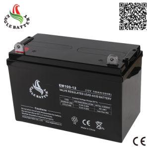 Hot Sale 12V 100ah AGM Maintenance Free Lead Acid Battery pictures & photos