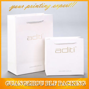 Printing White Art Paper Shopping Bags Custom (BLF-PB325) pictures & photos