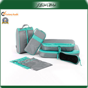 Reusable Polyester Travel Storage Bag Set pictures & photos