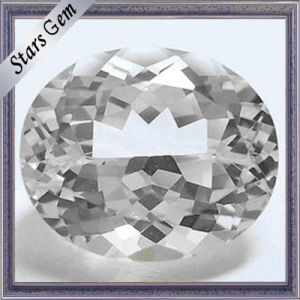 Oval Excellent Natural Cut Natural White Topaz for Jewelry pictures & photos