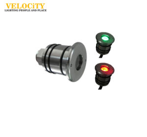 1 PCS Outdoor IP68 Surface Mounted RGB LED Swimming Pool Light 12V/24V