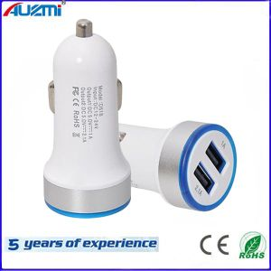 Universal 2 USB Car Charger with Lighting pictures & photos