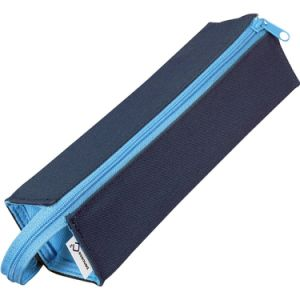 Square Polyester Pen Box with Zipper