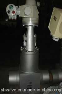 High Pressure Self-Sealing Gate Valve Butt Weld