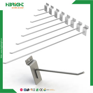 Single Double Prong Steel Wire Display Hook for Supermarket pictures & photos