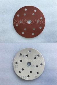 Red Aluminium Oxide Sanding Paper Disc pictures & photos
