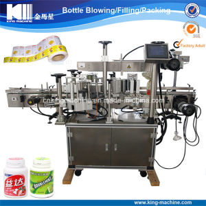 Chewing Gum Bottle Adhesive Sticker Labeling Machine pictures & photos
