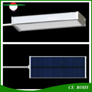 Sensitive Solar Radar Sensor Garden Lights 48LED Aluminium Alloy IP65 Outdoor Solar Lamp High Brightness Flexible Street Light pictures & photos
