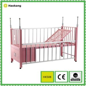 Hospital Furniture for Medical Stainless Steel Children Bed (HK509) pictures & photos